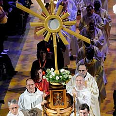 Catholic Sun Worship